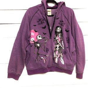 DISNEY Nightmare before Christmas zip up